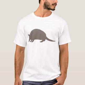 灰色のアルマジロ Tシャツ