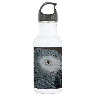 灰色のオウム ウォーターボトル