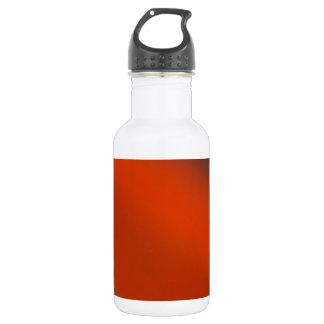 灰色のオレンジ灰色 ウォーターボトル