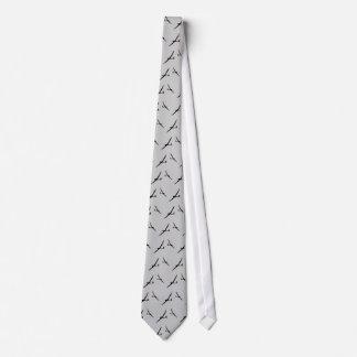 灰色のグライダーのタイ オリジナルネクタイ