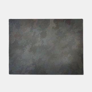 灰色のグランジ ドアマット