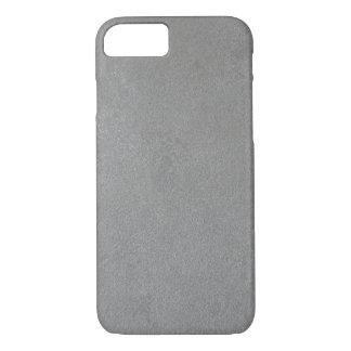 灰色のスエード iPhone 8/7ケース