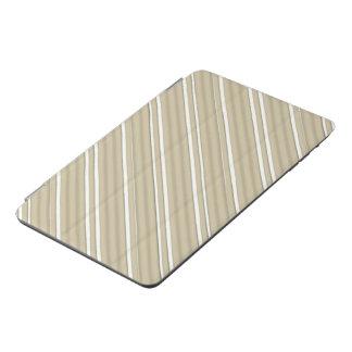 灰色のストライプなIpad小型カバー iPad Miniカバー