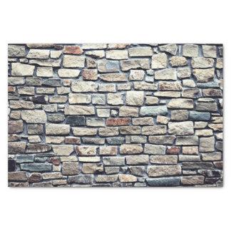 灰色のタイルの壁 薄葉紙