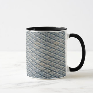灰色のダイヤモンド マグカップ