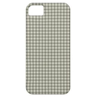 灰色のチェッカーボードパターン iPhone SE/5/5s ケース