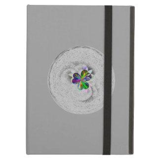 灰色のデザイン iPad AIRケース