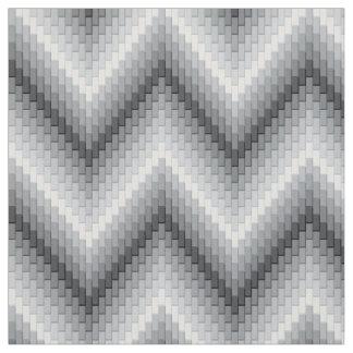 灰色のヘリンボン ファブリック