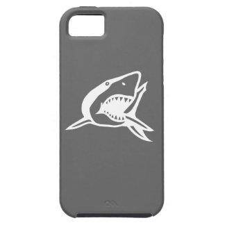 灰色のホホジロザメのiPhone 5の箱 iPhone SE/5/5s ケース