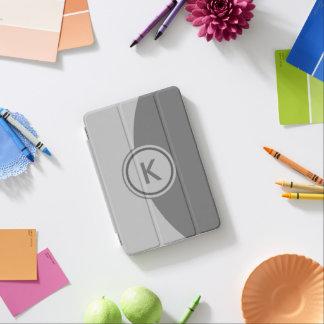灰色のモノグラム iPad MINIカバー