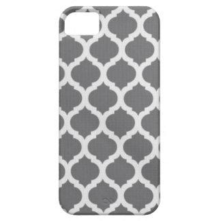 灰色のモロッコの電話箱 iPhone SE/5/5s ケース