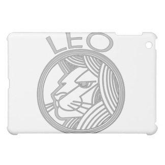 灰色のレオライオンの占星術の印 iPad MINIケース