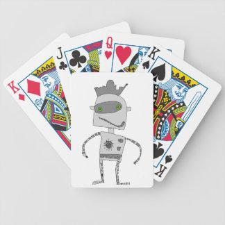 灰色のロボット相棒 バイスクルトランプ