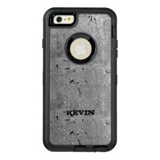 灰色のヴィンテージの汚い質のプリント オッターボックスディフェンダーiPhoneケース
