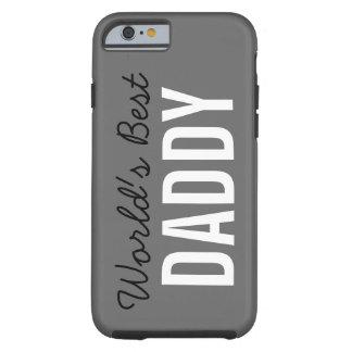 灰色の世界で最も最高のなお父さんの習慣のiPhone6ケース ケース