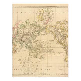灰色の世界地図6 ポストカード