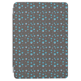 灰色の勾配の青い点 iPad AIR カバー