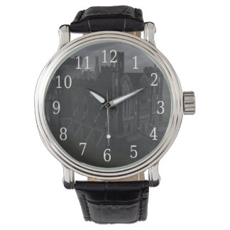 灰色の城の腕時計 腕時計
