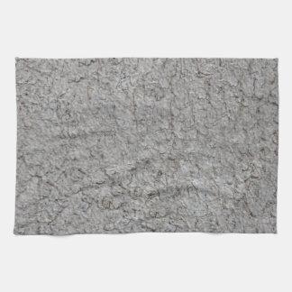 灰色の壁の背景 キッチンタオル