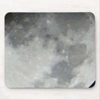 灰色の月の表面 マウスパッド