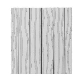 灰色の材木の背景 ノートパッド