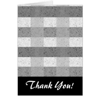 灰色の格子縞の陰 カード
