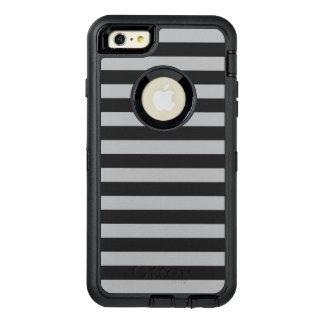 灰色の横は縞で飾ります オッターボックスディフェンダーiPhoneケース