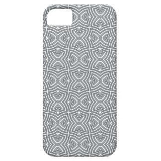 灰色の歪んだ結び目 iPhone SE/5/5s ケース