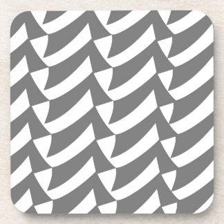 灰色の点検 コースター