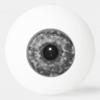 灰色の眼球 卓球ボール