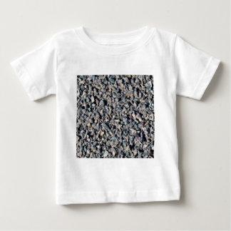 灰色の砂利の質 ベビーTシャツ