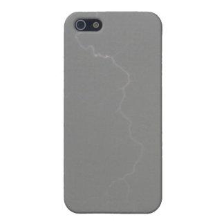 灰色の稲妻4/4s iPhone 5 カバー