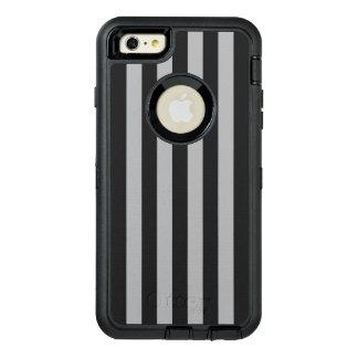 灰色の縦ストライプ オッターボックスディフェンダーiPhoneケース