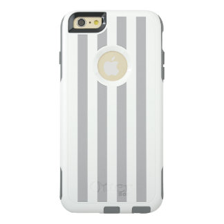 灰色の縦ストライプ オッターボックスiPhone 6/6S PLUSケース