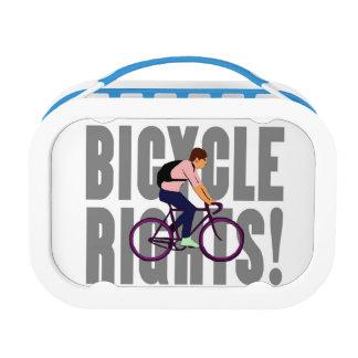 灰色の自転車の権利 ランチボックス