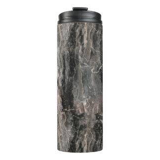 灰色の調子の大理石の石 タンブラー
