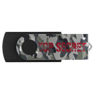灰色の軍隊海軍空軍カムフラージュUSBドライブギフト USBフラッシュドライブ