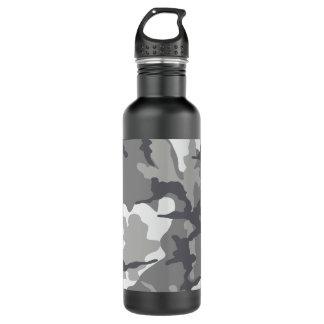 灰色の迷彩柄の鋼鉄24のoz。 水差し ウォーターボトル