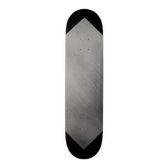 灰色の鋼鉄速度の一見カスタマイズ可能な3 スケートボード