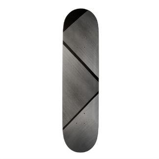 灰色の鋼鉄速度の一見白くカスタマイズ可能な0 スケートボード