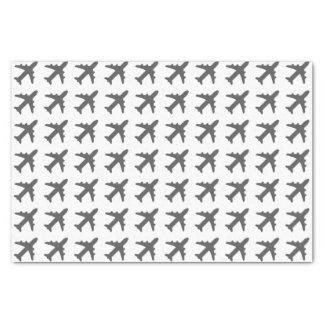 灰色の飛行機 薄葉紙