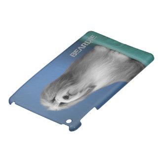 灰色の髭があるコリーのモデル iPad MINI カバー