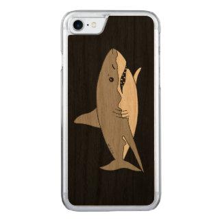 灰色の鮫 CARVED iPhone 8/7 ケース