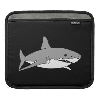 灰色の鮫 iPadスリーブ