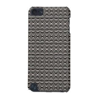 灰色の黒くモダンなパターン iPod TOUCH 5G ケース