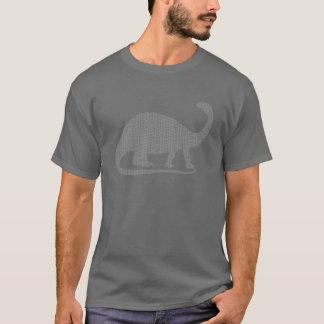 灰色のBrontosaurus Tシャツ