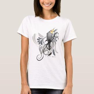 灰色のCockatiel Tシャツ