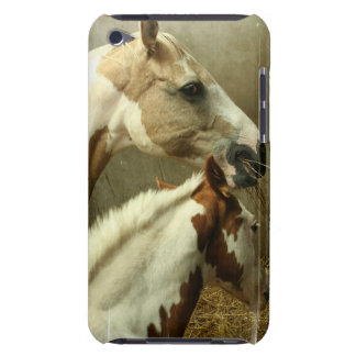灰色のEventingの馬のiTouchの箱 Case-Mate iPod Touch ケース
