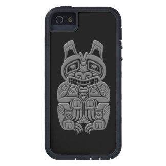 灰色のHaidaの精神は黒に関係します iPhone SE/5/5s ケース