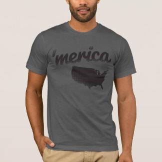 「灰色のMerica Tシャツ